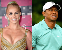 Britney Spears and Tiger Woods