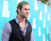 Chris Hemsworth, Celebrity man buns