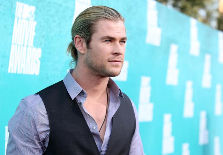 Chris Hemsworth, Celebrity man buns