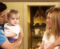 Friends, Ross, Rachel, baby Emma, TV babies