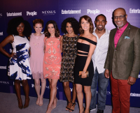 Grey's Anatomy, Jerrika Hinton, Sara Drew, Caterina Scorsone, Kelly McCreary, Camilla Luddington, Jason George, James Pickens Jr.