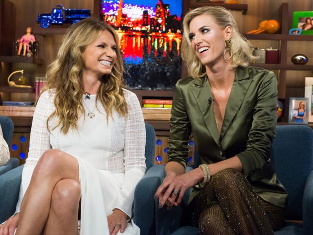 Heather Thomson and Kristen Taekman Watch What Happens Live - Season 12