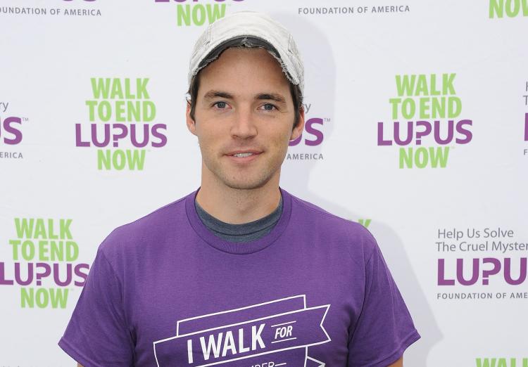Ian Harding Lupus
