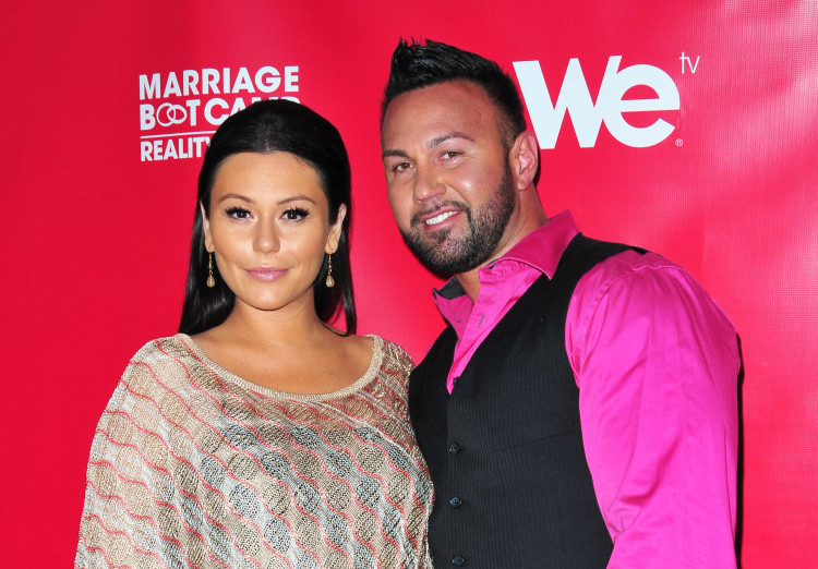 JWOWW and Roger dog