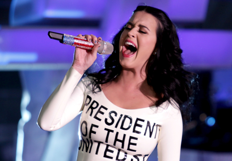 Katy Perry, celebrity political fashion statements