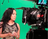 K. Michelle on the Set of K. Michelle: My Life Season 2