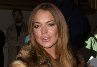 Lindsay Lohan Spat in Someone's Face During Racist Meltdown — Report