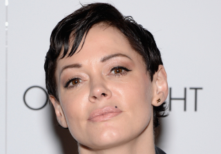 "Rose McGowan Unrecognizable in Otherworldly ""RM486"" Music Video"