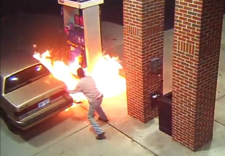 spider-gas-station-fire-video