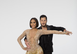 Who is val hookup on dwts