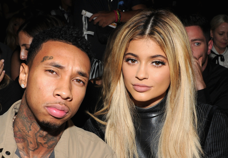 Tyga Kylie Jenner Fashion Week
