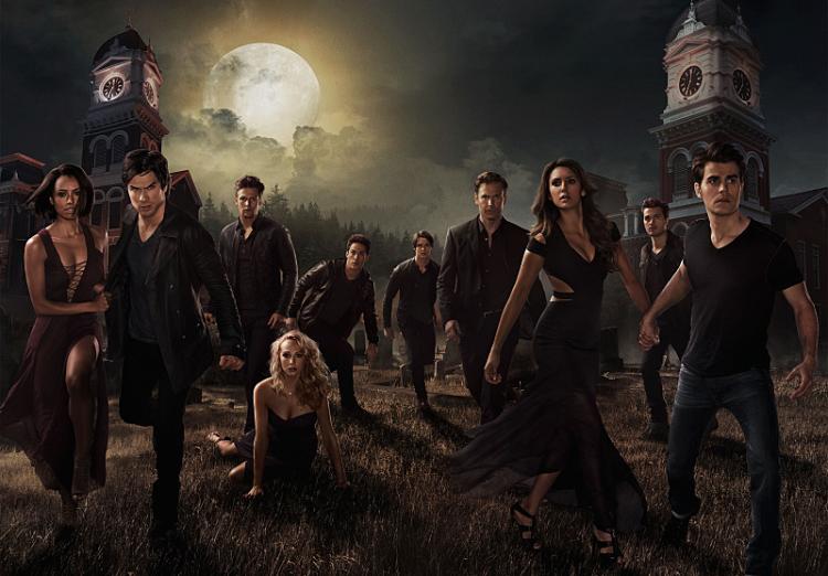 vampire diaries season 6 poster