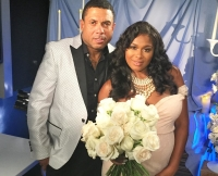 Benzino and Althea Heart at Their Baby Shower