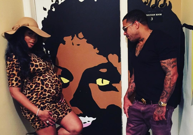 Benzino and Pregnant Althea Heart