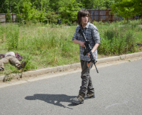 Carl Walking Dead Season 6