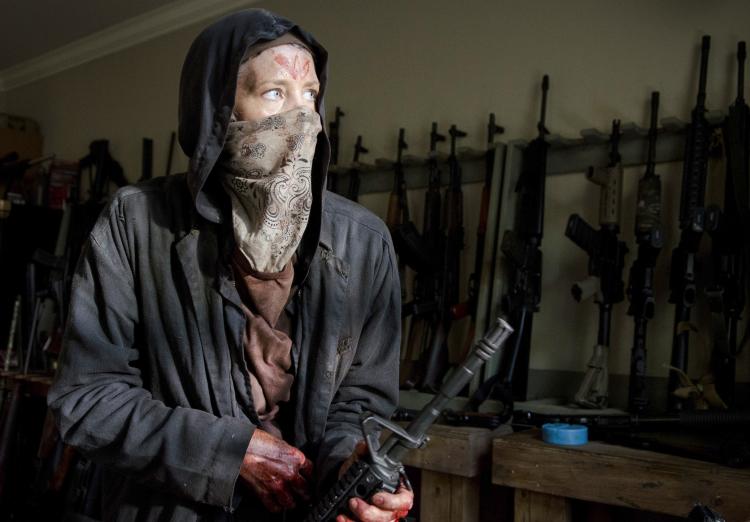 Carol Disguise Walking Dead Season 6