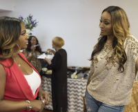 Cynthia Bailey Kandi Burruss Real Housewives of Atlanta Season 8