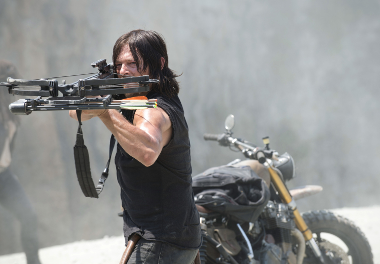 Daryl The Walking Dead Season 6 Premiere