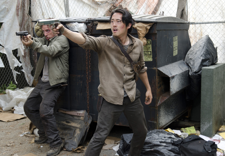 Glenn Nicholas The Walking Dead Season 6