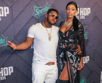 Lil Scrappy and Bambi Arrive at 2015 BET Hip Hop Awards