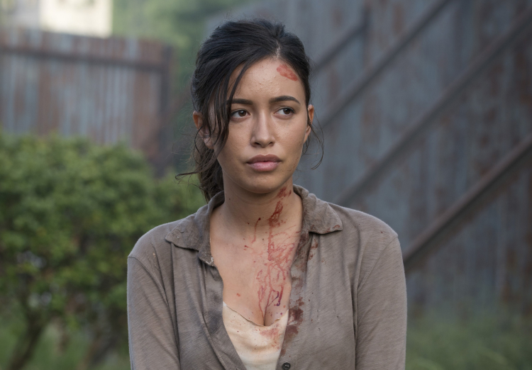 Rosita The Walking Dead Season 6, Episode 2