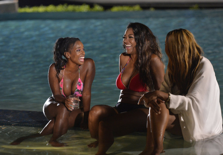 Shamea Morton Kenya Moore Cynthia Bailey Real Housewives of Atlanta Season 8