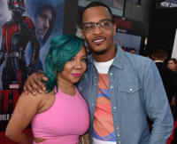 T.I. and Wife Tiny at Premiere of 'Ant-Man'