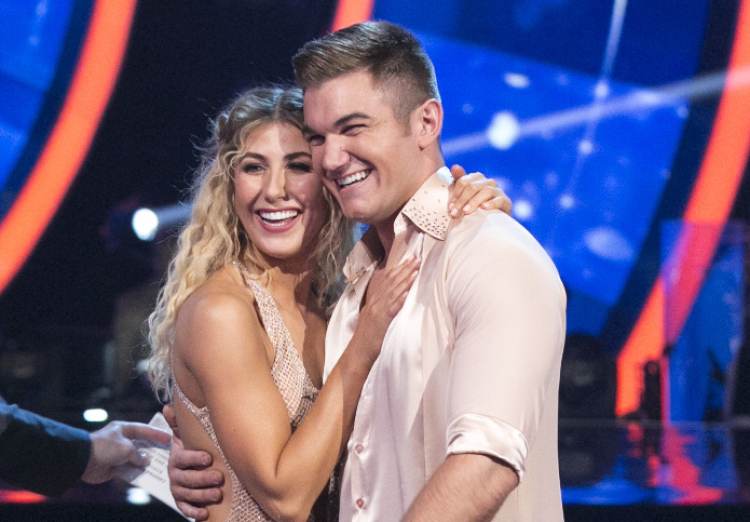 Alek Skarlatos and Emma Slater