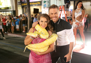 Bindi Irwin on Derek Hough: \