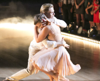 Bindi Iriwn and Derek Hough