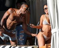 INF - Christina Milian Rocks A Tiny Leopard Print Bikini On The Beach In Miami