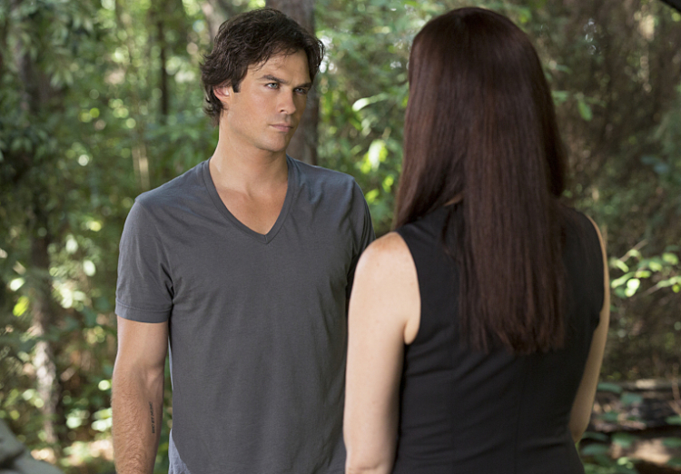 Damon and Lily in Season 7 Episode 2
