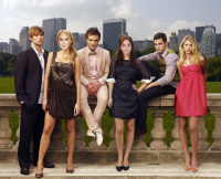 gossip girl cast with ashley olsen and rumer willis