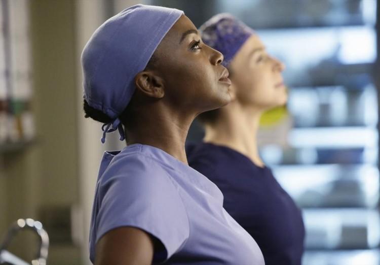 Grey's Anatomy, Stephanie, Jerrika Hinton, Amelia, Caterina Scorsone