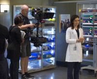 Caterina Scorsone, Grey's Anatomy Season 12 winter finale date
