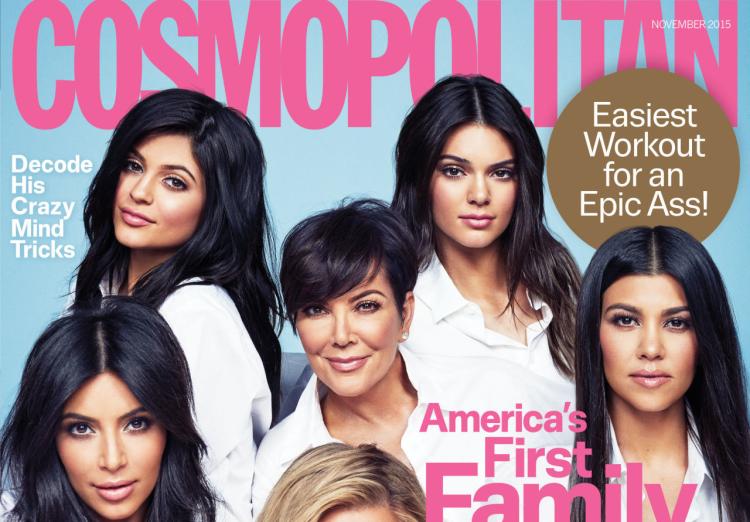 kardashians jenners cosmopolitan cover