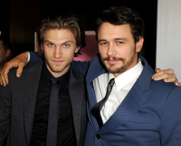 Keegan Allen and James Franco