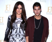 Rob Kardashian and Khloe Kardashian