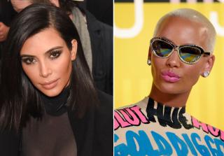 Kim Kardashian and Amber Rose Feud
