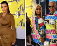 Amber Rose and Kim Kardashian Feud