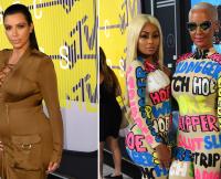Amber Rose and Kim Kardashian Feud