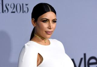 kim kardashian instyle awards