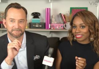 Clinton Kelly and Devyn Simone Play 'Love At First Swipe': Celeb Edition (VIDEO) — Exclusive