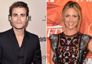 Paul Wesley & Brittany Snow Reunite For 'Late Bloomers' 15 Years After 'Guiding Light' (PHOTO)