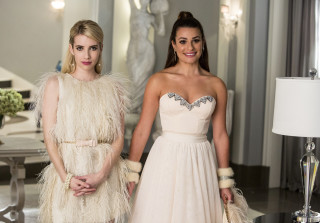 Are 'Scream Queens' Stars Lea Michele and Emma Roberts Feuding?
