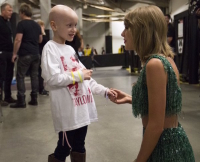 Taylor Swift Cancer Patient