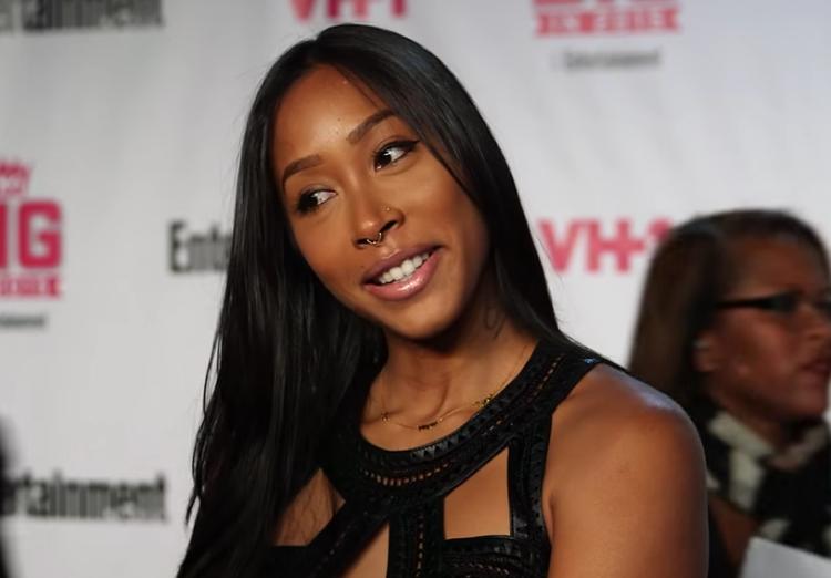 Apryl Jones at VH1's Big in 2015