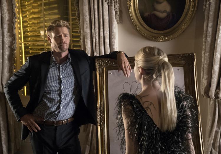 Brad Radwell and Chanel Oberlin in Scream Queens Season 1