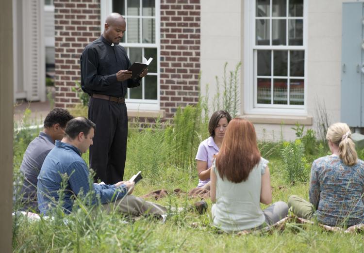 Father Gabriel The Walking Dead Season 6, Episode 7