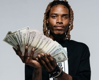 Fetty Wap With Stack of Cash